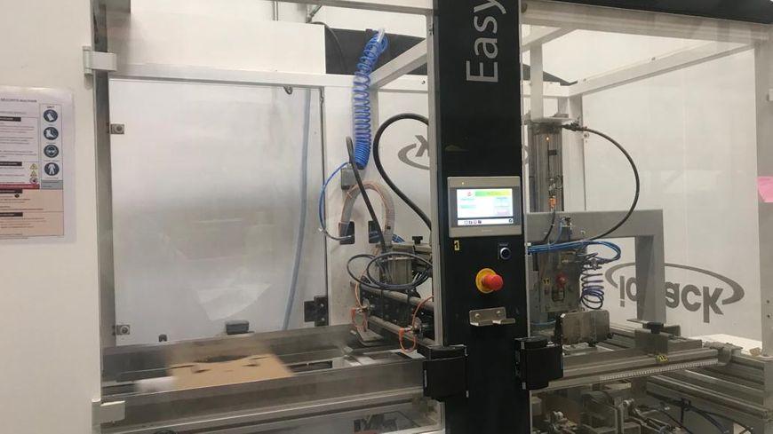 L'entreprise Bio Bleud basée à Ploudaniel a automatisé une partie de la production pour laisser les salariés gérer les tâches moins physiques