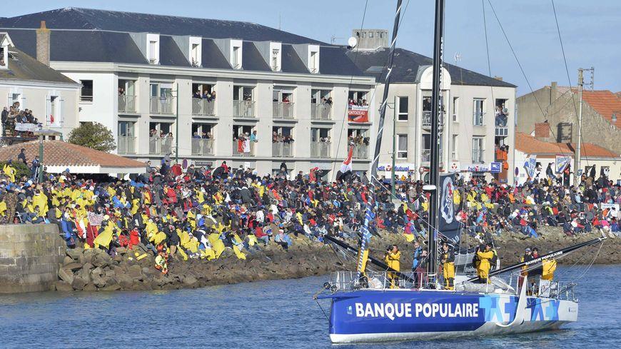 En 2016, 29 bateaux étaient au départ du Vendée Globe