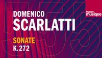 Scarlatti : Sonate pour clavecin en Si bémol Majeur K 272 L 145 (Allegro), par Carole Cerasi