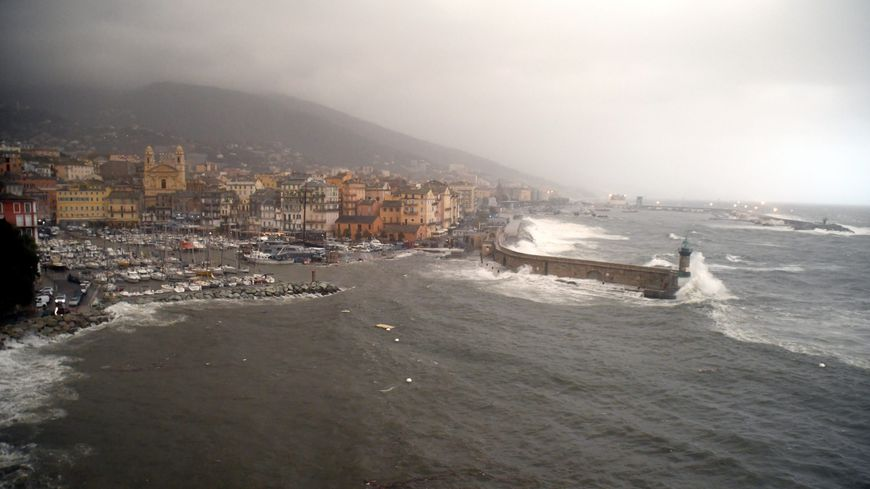 Orage sur Bastia, Haute-Corse (photo d'illustration)