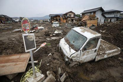 Le typhon Hagibis a frappé le Japon le 12 octobre 2019