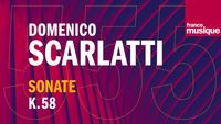 Scarlatti : Sonate pour clavecin  en ut mineur K 58 L 158, par Thomas Ragossnig