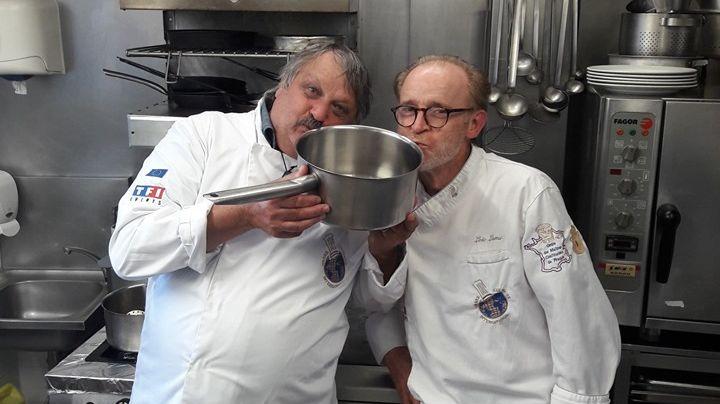 Jean-Marie Barbotin et Loïc Lamy
