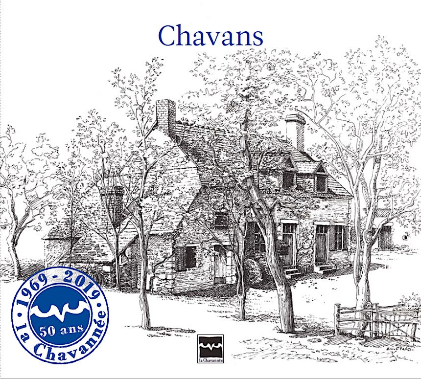 Les 50 ans de La Chavannée - Couverture du Cd