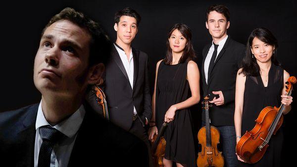 Debussy, Beethoven et Brahms par le Quatuor Hermès & Geoffroy Couteau - Salle Gaveau (Festival La Dolce Volta)