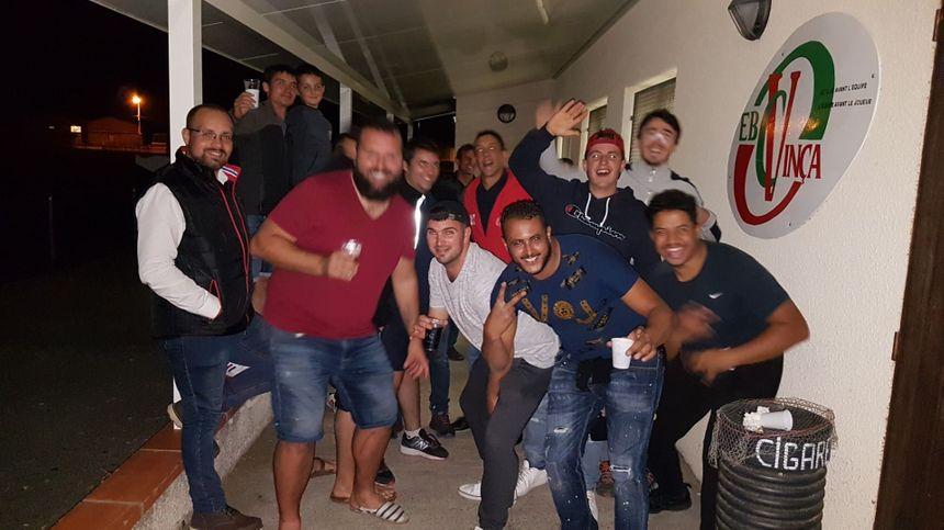 De la joie pour les rugbymen de Vinça