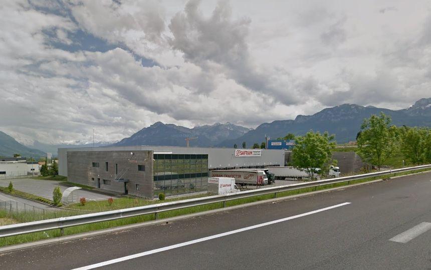 Le site de Safram dans la vallée de l'Arve. (Image Google Maps)