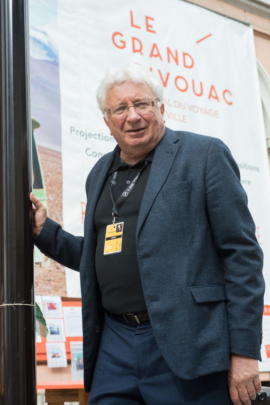 Guy Chaumereuil au Grand Bivouac