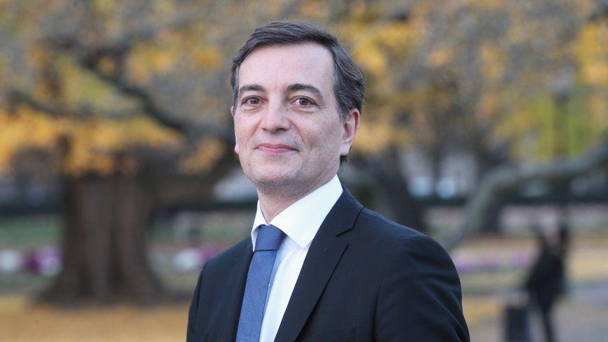 Alain Fontanel, premier adjoint au maire de la ville de Strasbourg.