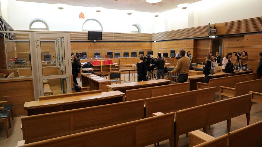 La salle d'audience de la cour d'assises d'Aix-en-Provence