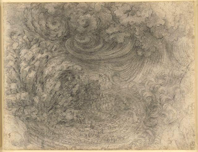 Léonard de Vinci, Déluge
