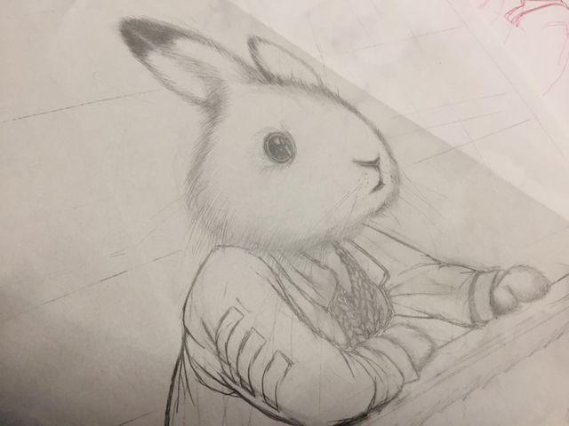 Un dessin de Rébecca Dautremer pour Jacominus Gainsborough