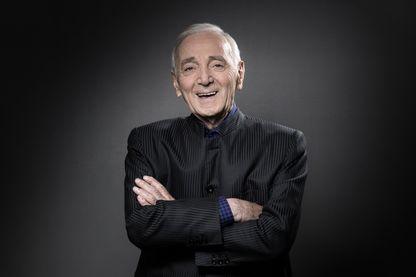 Charles Aznavour en 2017