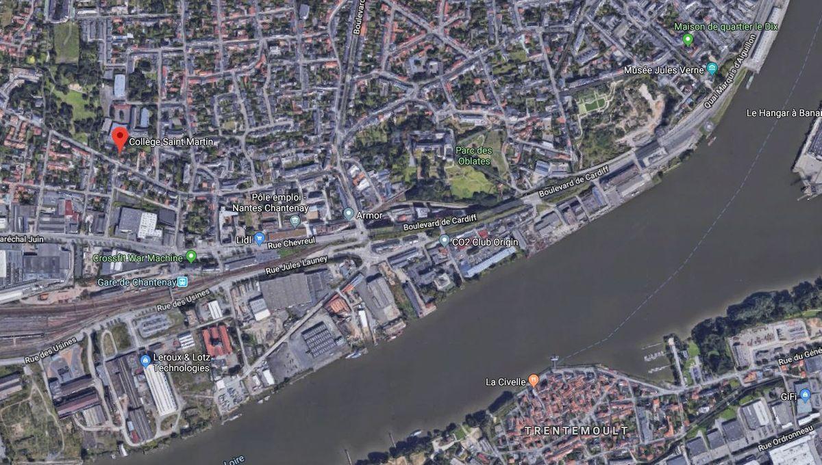 Nantes : trois adolescents arrêtés pour de grosses dégradations dans un collège