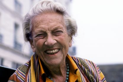 Ella Maillart à Saint-Malo en 1991