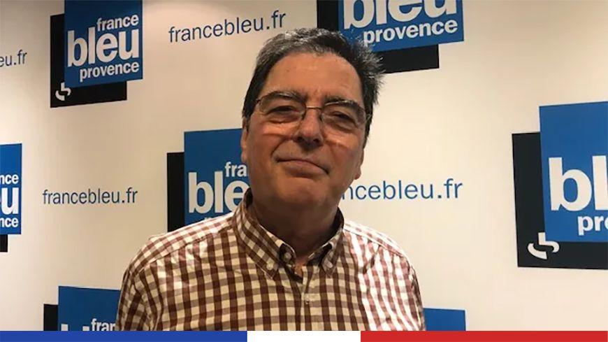 """Michel Pinard candidat """"indépendant"""" à la mairie de Marseille."""