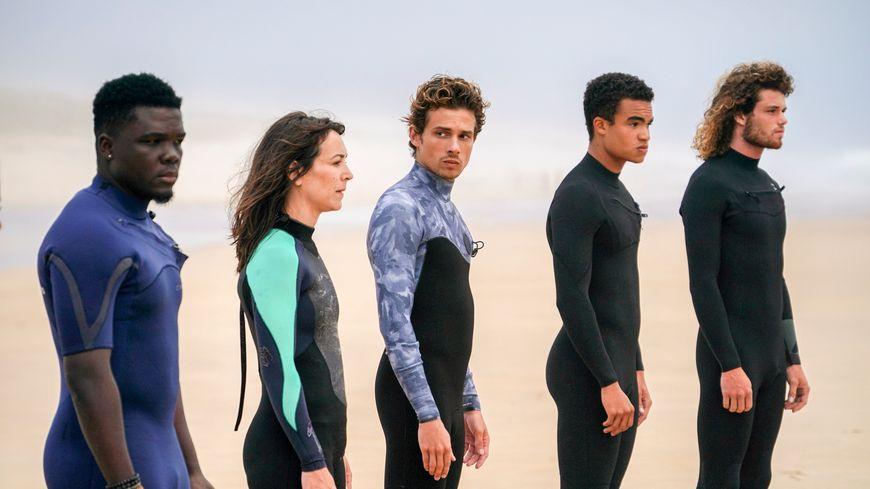 """Diffusée sur France 2 à partir du 21 octobre, """"La dernière vague"""" a été en grande partie tournée sur la côte landaise"""