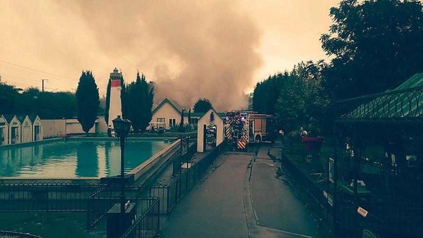 Incendie à Festyland
