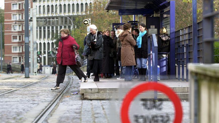 Des usagers bloqués par la grève des transports
