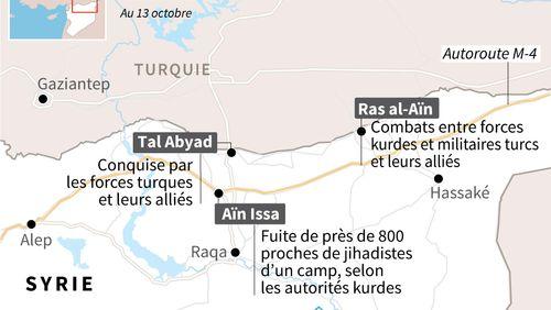 Le régime syrien au chevet des Kurdes contre les forces turques