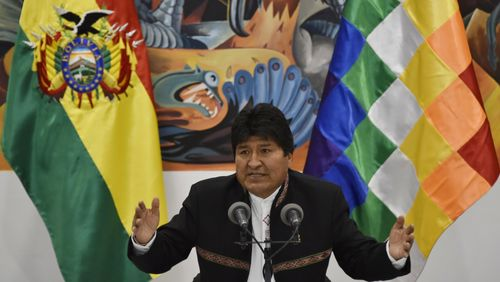 Bolivie : Evo Morales accuse l'opposition de tentative de coup d'Etat