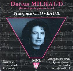 Madame Bovary op 128b : 3 valses op 128c : Valse n°1 - FRANCOISE CHOVEAUX