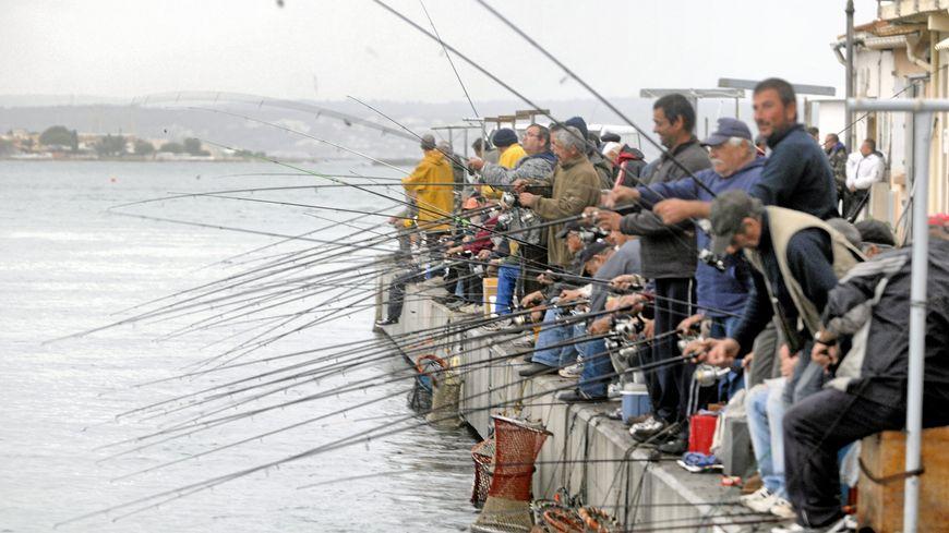 Les pêcheurs de daurades à Sète