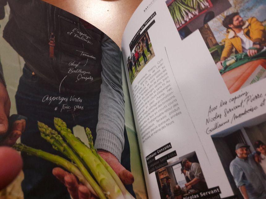 """Extrait du livre """"Eatinéraire"""" de Fabrice Mignot"""