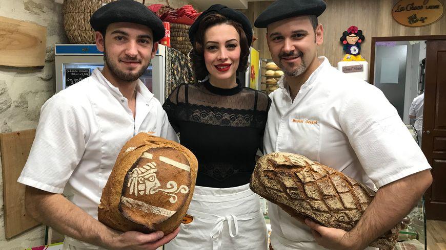 Léo, Stéphanie et Mickael
