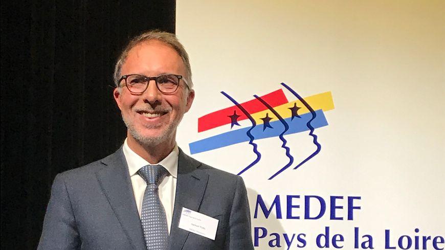 Samuel Tual est le nouveau président du MEDEF Pays de la Loire.