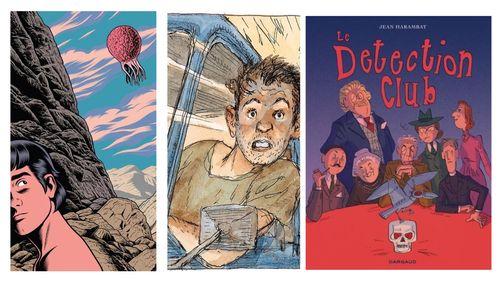 """Bande dessinée : """"Dédales"""", """"Le Détection club"""", """"Préférence système"""", """"Visa Transit"""""""
