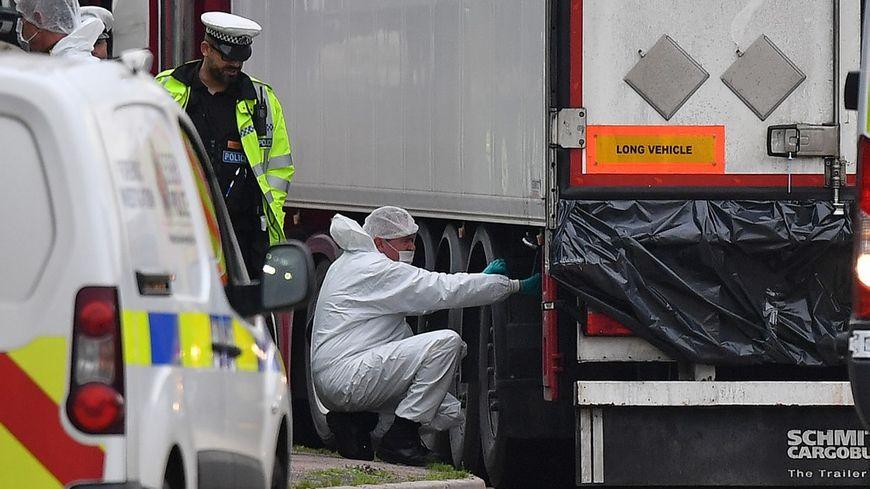 Les 39 morts retrouvés dans un camion frigorifique près de Londres étaient des citoyens chinois