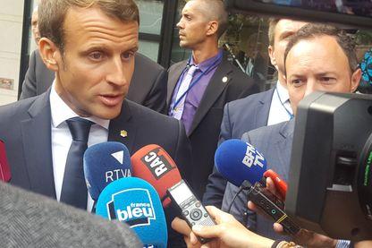 Emmanuel Macron en Andorre en tant que co-prince de la principauté