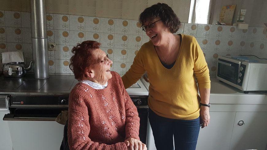 Yolande et Françoise, aide à domicile depuis 30 ans