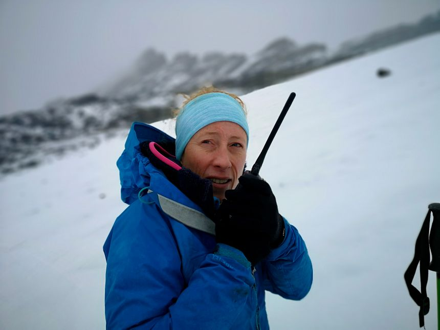 Delphine Six est glaciologue à l'IGE, l'Institut des géosciences de l'environnement de Grenoble