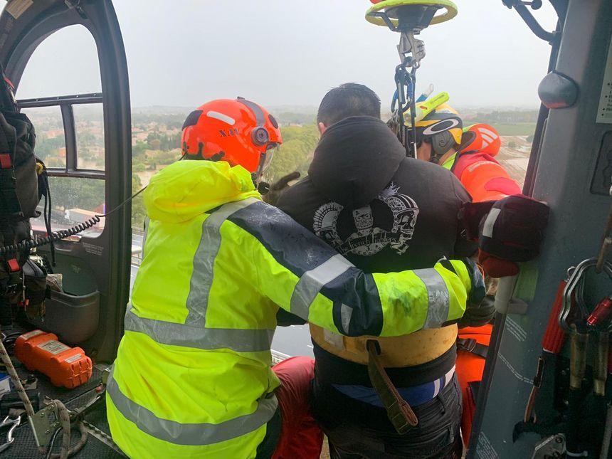 Des opérations de sauvetage ont eu lieu.