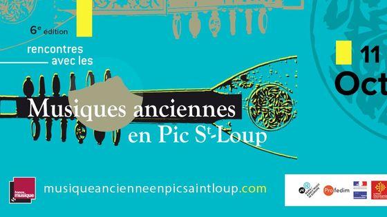 Musiques anciennes en Pic Saint-Loup