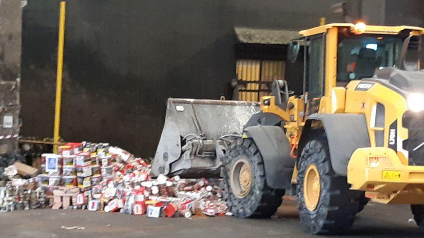 Depuis le début de l'année 2019, les douanes de Lorraine ont saisi 17 tonnes de tabac frauduleux.