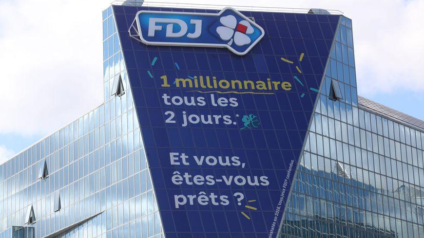 Le siège de la Française des Jeux à Boulogne-Billancourt
