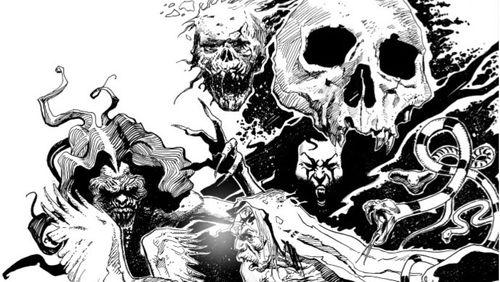 """Le Dracula de Georges Bess : """"Mon dessin est un jeu entre l'intuitif et le contrôle"""""""