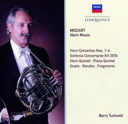 Concerto n°1 en Ré Maj K 412 : Allegro - pour cor et orchestre à cordes - BARRY TUCKWELL