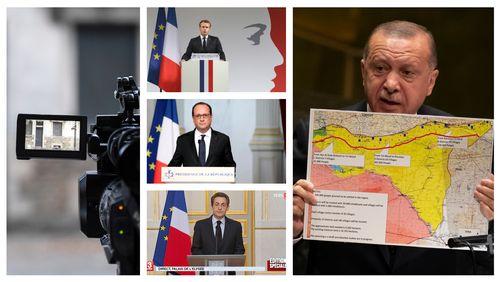 1/ Médias/Dupont de Ligonnès : la douche écossaise 2/ Après l'attentat : de Sarkozy à Macron, brève histoire des discours présidentiels  3/ Kurdes : histoire d'une tragédie