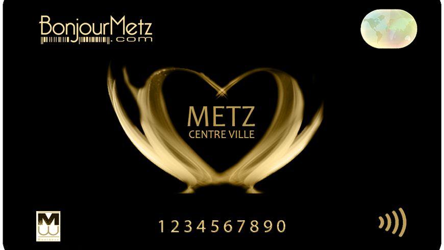 Carte BonjourMetz