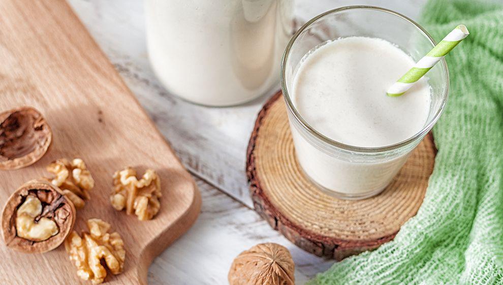La recette du lait de noix