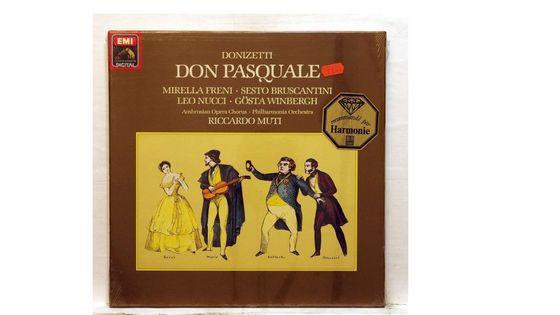 Don Pasquale - Donizetti - Riccardo Muti - Mirella Freni - Leo Nucci