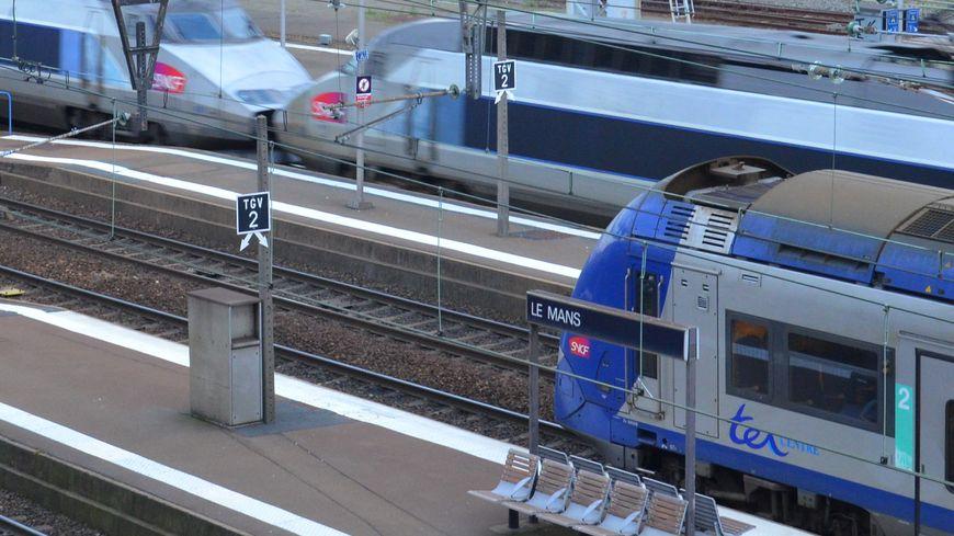 Le trafic est perturbé en gare du Mans après un nouvel accident de personne