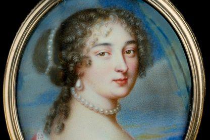 Portrait de Madame de Maintenon par Jean Petitot le Vieux au XVIIe siècle