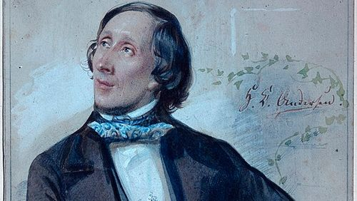 """La Nuit rêvée de Valérie Zenatti (2/11) : Hans Christian Andersen : """"Les wagons où nous allons monter sont rangés comme des gondoles le long d'un quai"""""""