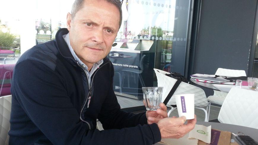 Eric Forget, directeur achats et logistique chez Pat à Pain, l'enseigne berrichonne de restauration rapide