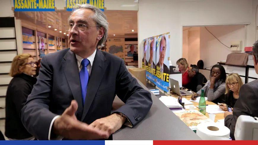 Robert Assante, ancien maire des 11e et 12e arrondissements de Marseille.